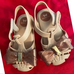 Zaxy Baby Bow Shoes